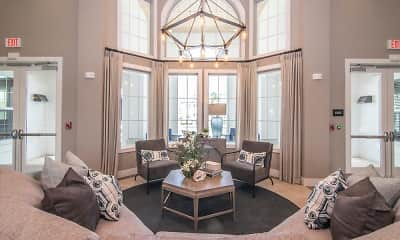 Living Room, Shadetree Apartments, 1