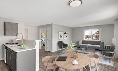 Living Room, Brickstone Estates, 2