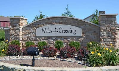 Community Signage, Wales Crossing, 2