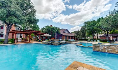 Pool, Lincoln Crossing Apartments, 0