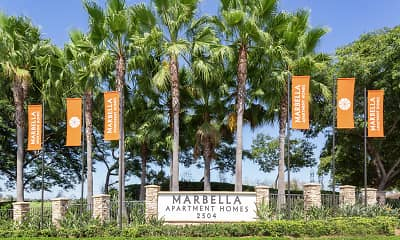 Community Signage, Marbella, 2