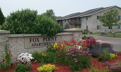 Community Signage, Fox Point Apartments, 1