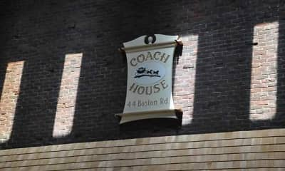 Community Signage, Coach House Apartments, 2