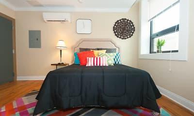 Bedroom, 721 W. Belmont, 2