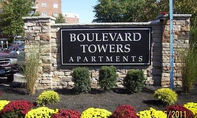 Community Signage, Boulevard Towers, 0