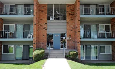 Building, McLaughlin Apartments, 0
