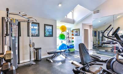 Fitness Weight Room, Ascent Pineville, 2