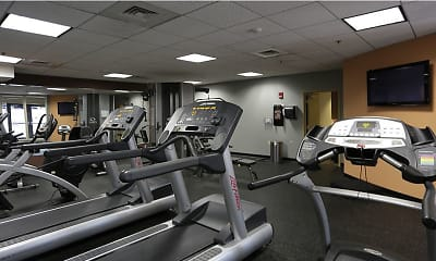 Fitness Weight Room, The Residences At Manchester Place, 1