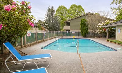 Pool, Sundance Apartments, 0