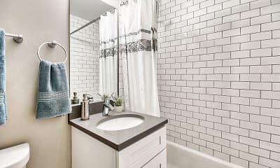 Bathroom, The Maynard at 2545 W Fitch, 2