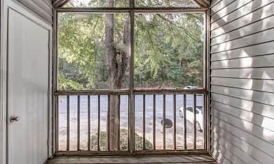 Patio / Deck, Garden Walk Apartments, 2