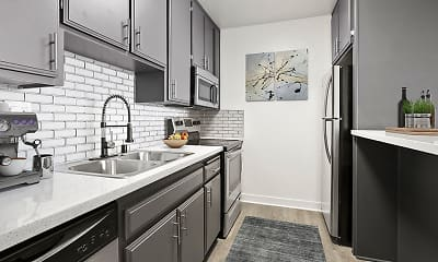Kitchen, Chandler Circle Apartments, 0