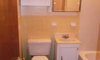 Bathroom, Garfield Club, 2