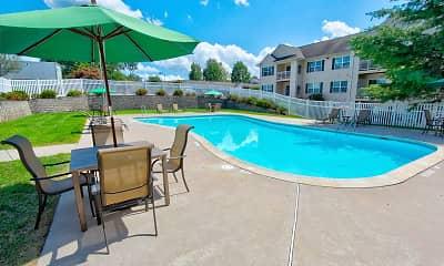 Pool, Aspen Woods, 1