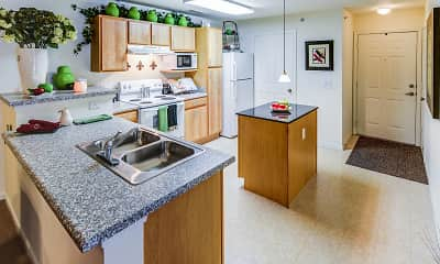 Kitchen, Avion Ridge, 2