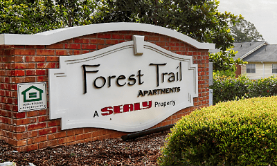 Community Signage, Forest Trail, 0