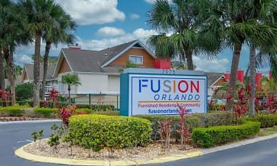 Community Signage, Fusion Orlando, 2