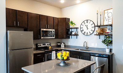 Kitchen, Brick Towne Ames, 0