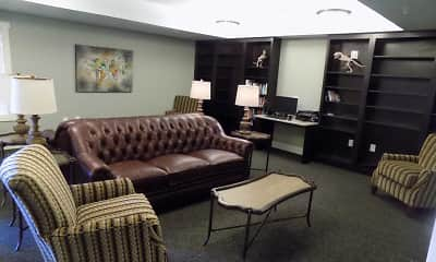 Living Room, Lodge at Johns Road, 1