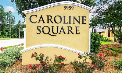 Community Signage, Caroline Square, 2