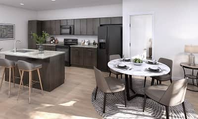 Kitchen, Alvera at the Meadows, 0