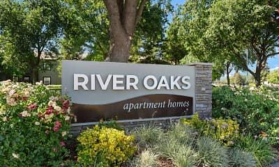 Community Signage, River Oaks, 2