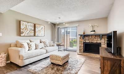 Living Room, Villas at Holly, 0