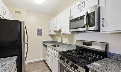 Kitchen, Plaza Towers Apartments, 0