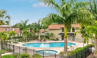 Pool, Park Pointe Apartments, 0