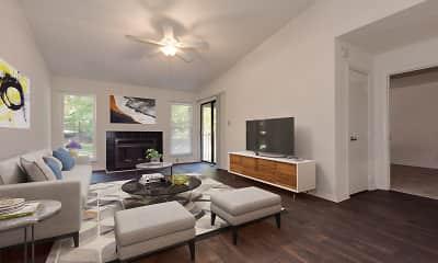 Living Room, Averelle North Hills, 2