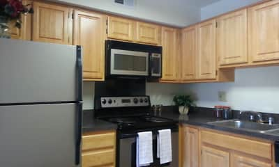 Kitchen, Robin Hill Apartments, 1