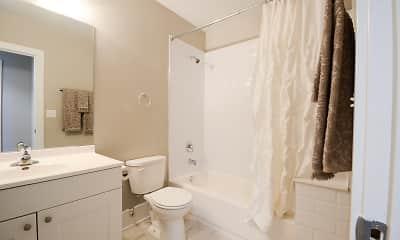 Bathroom, 3141 N. Sheffield, 2