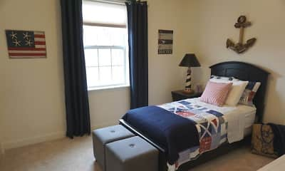Bedroom, Parkside Village, 1