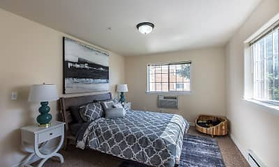 Bedroom, Quail Springs Apartments, 1