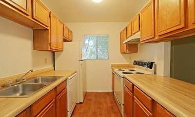 Kitchen, Whispering Willows Apartments, 1