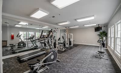 Fitness Weight Room, Keswick Village, 2