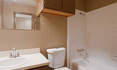 Bathroom, The Apartments @ Lake Hill Dr, 2