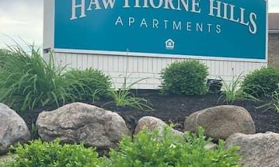 Community Signage, Hawthorne Hills, 0