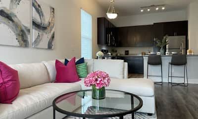 Living Room, Haven Pointe at Carolina Forest, 1