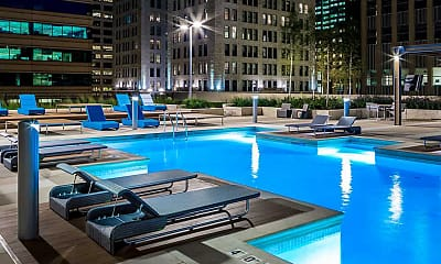 Pool, The Nic On Fifth Apartments, 2