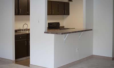 Kitchen, Brentmoor at Penn Center, 2