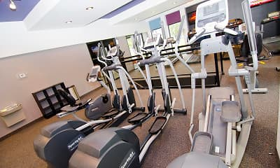 Fitness Weight Room, College Towne, 2