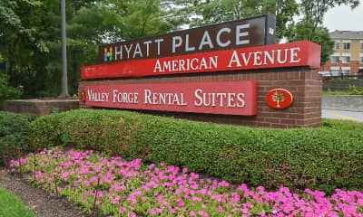 Community Signage, Valley Forge Suites, 1