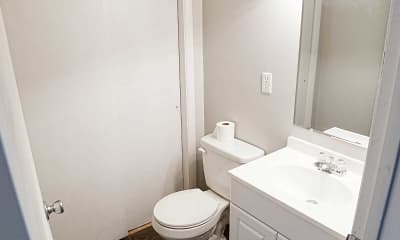 Bathroom, Dillsboro Townhomes, 2