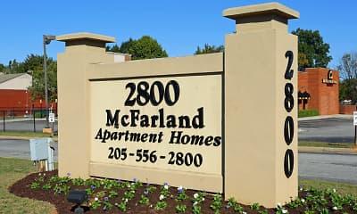 Community Signage, 2800 Mcfarland, 1
