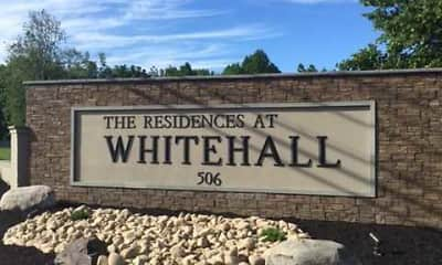 Community Signage, The Residences at Whitehall, 0