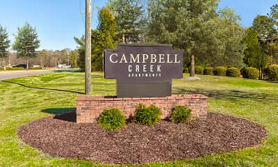 Community Signage, Campbell Creek - PER BED LEASE, 2