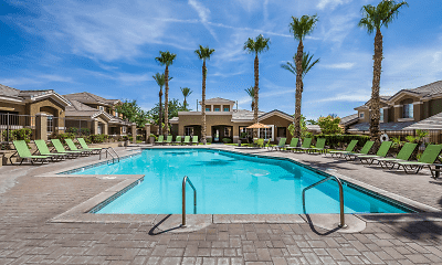 Pool, Red Rock Villas, 1