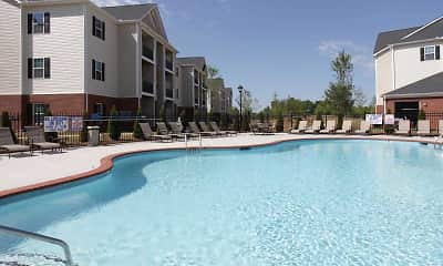 Pool, Clemmons Town Center Apartments, 2