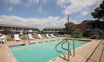 Pool, Meadows Apartments, 0